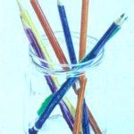 pencils coloured pencils